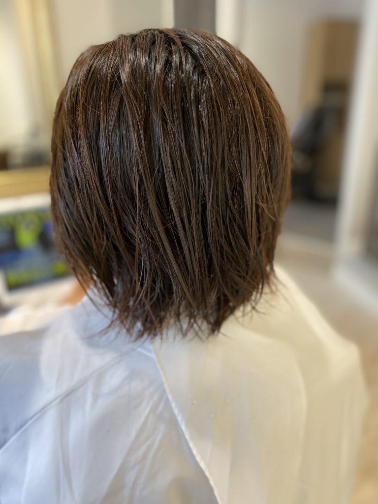 品格のあるショートヘア