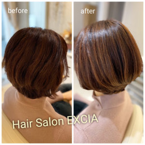 髪質改善×ショートヘア